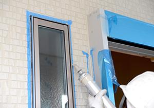 窓まわりなどサッシの隙間